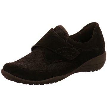 Waldläufer Komfort SlipperKatja-Soft schwarz