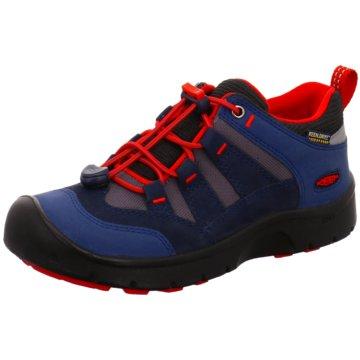 Keen Sportlicher Schnürschuh blau