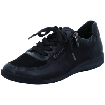 ara Sportlicher Schnürschuh schwarz