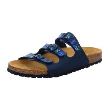 Lindenbaum Komfort Pantolette blau