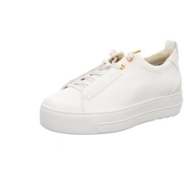 Paul Green Plateau Sneaker5017 weiß