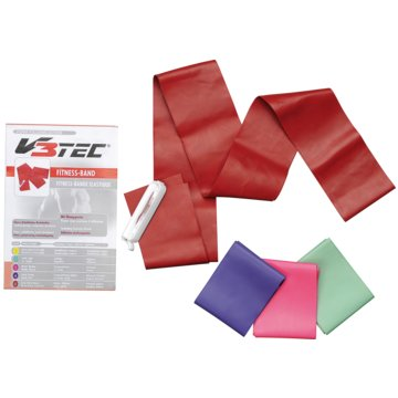 V3Tec GymnastikbänderFITNESS BAND 150 MM - 200 CM - 1023476 -