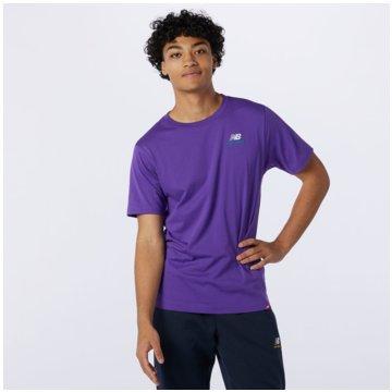 New Balance T-ShirtsNB ESSE EMBR TEE - MT11592_PRP lila