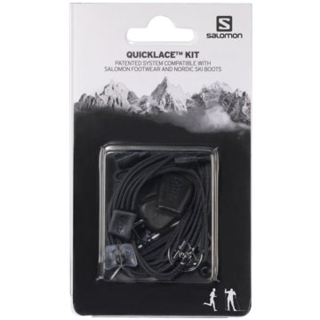 Salomon SchnürsenkelQUICKLACE KIT BLACK 8.5 - L32667200 schwarz
