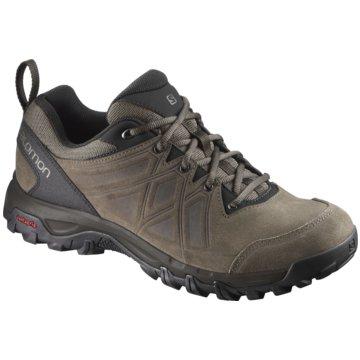 Salomon Outdoor Schuh braun