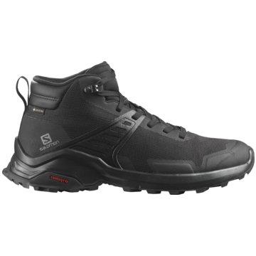 Salomon Outdoor SchuhX RAISE MID GTX BLACK/BLACK/ - L41095700 schwarz