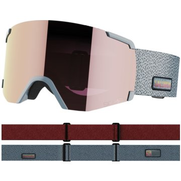 Salomon Ski- & SnowboardbrillenS/VIEW SIGMA GREY/LOLIG S.PINK NS - L41177100 grau