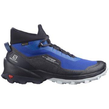 Salomon Outdoor SchuhCROSS OVER CHUKKA GTX - L41282900 blau