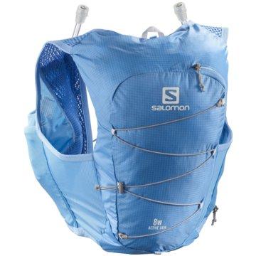 Salomon RunningrucksäckeACTIVE SKIN 8 W SET MARINA/ALLOY L - LC1515000 blau