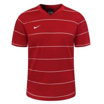 Nike HerrenSS Pin Stripe Game Jersey rot