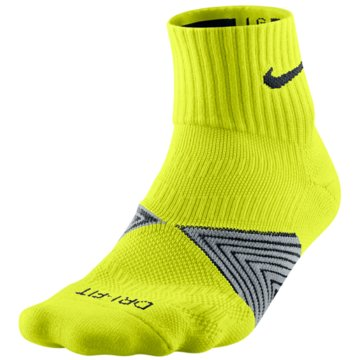 Nike SockenRun Cushion Dynamic Arch Quarter Socks gelb