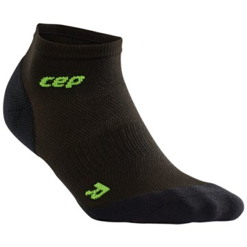 CEP Hohe SockenDynamic+ Run Ultralight Low-Cut Socks Women schwarz