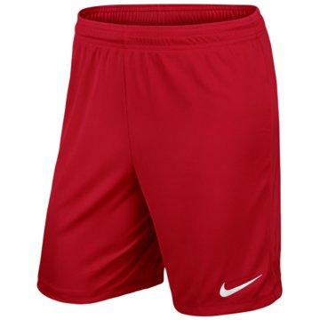 Nike Kurze Hosen rot