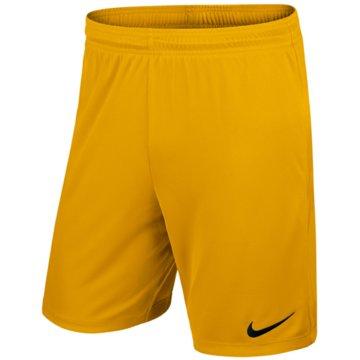 Nike Teamwear & TrikotsätzeMEN'S NIKE DRY FOOTBALL SHORT - 725887 gelb