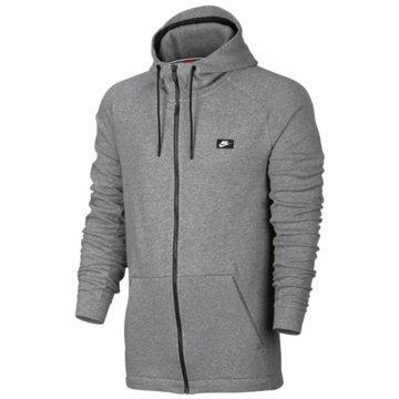 Nike FleecejackenSportswear Modern Hoodie FZ FT grau