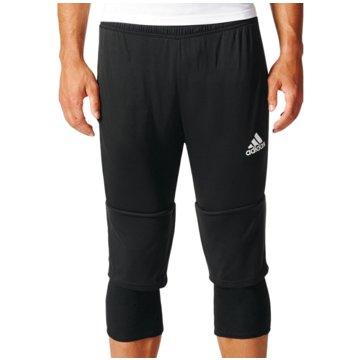 adidas FußballshortsTiro 17 3/4 Pant schwarz