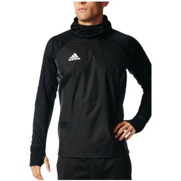 adidas SweaterTiro 17 Warm Top schwarz
