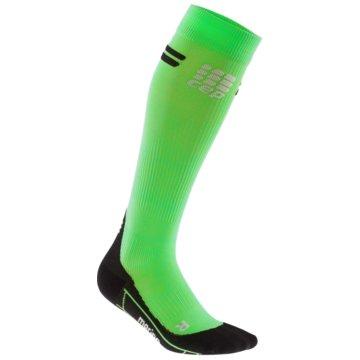 CEP KniestrümpfeProgressive+ Run Merino Socks Women grün