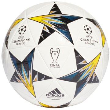adidas FußbälleFinale Kiev Capitano weiß