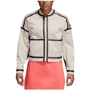 adidas ÜbergangsjackenZ.N.E. Reversible Jacket Women grau