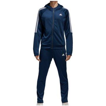 adidas TrainingsanzügeRe-Focus Tracksuit blau