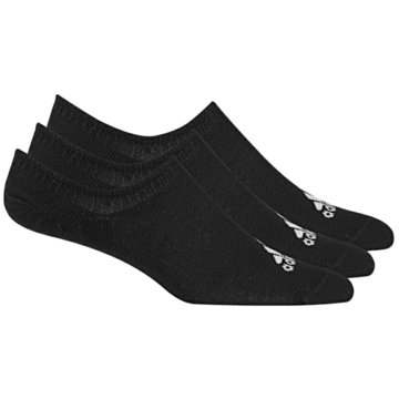 adidas Hohe SockenPerformance Invisible Socks 3Pack schwarz