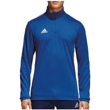 adidas SweaterCORE 18 TRAININGSTOP - CV3998 blau