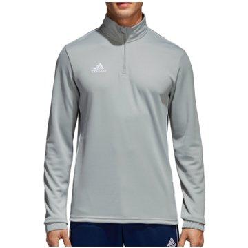 adidas SweaterCORE 18 TRAININGSTOP - CV4000 grau