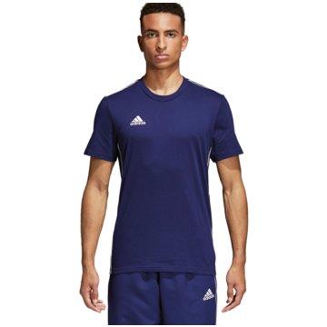 adidas Fan-T-Shirts blau