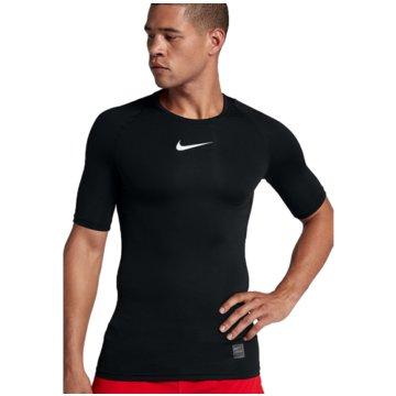 Nike T-ShirtsPro Compression SS Top schwarz