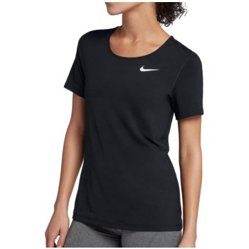 Nike FunktionsshirtsPro All Over Mesh SS Top Women schwarz