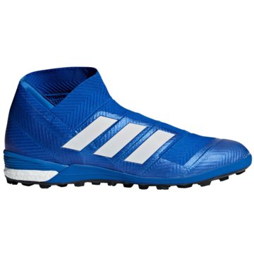 adidas Multinocken-SohleNemeziz Tango 18+ Boost TF blau