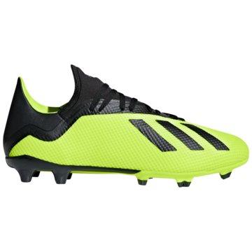 adidas Nocken-SohleX 18.3 FG gelb