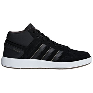 adidas IndoorCloudfoam All Court Mid schwarz
