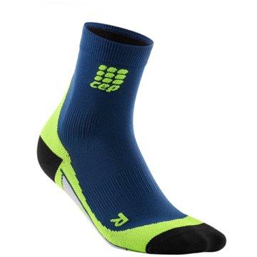 CEP Hohe SockenDynamic+ Short Socks Women blau
