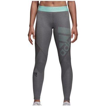 adidas TightsAlphaskin Sport Tight Women grau