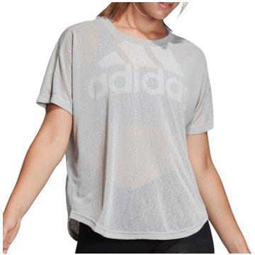 adidas FunktionsshirtsMagic Logo Tee Women grau