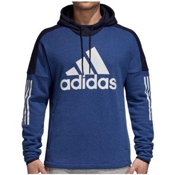 adidas HoodiesSport ID Logo PO Fleece Hoodie blau