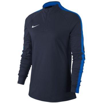 Nike LangarmshirtWOMEN'S NIKE DRY ACADEMY 18 DRILL F - 893710 blau