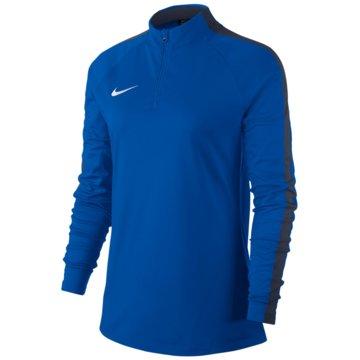 Nike LangarmshirtsDry Academy 18 Dril LS Top Women blau