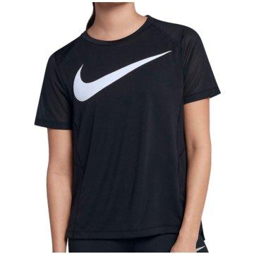 Nike T-ShirtsDry Miler Swoosh SS Running Top Women schwarz