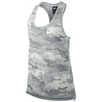 Nike DamenCamo Gym Vintage Tank Women grau