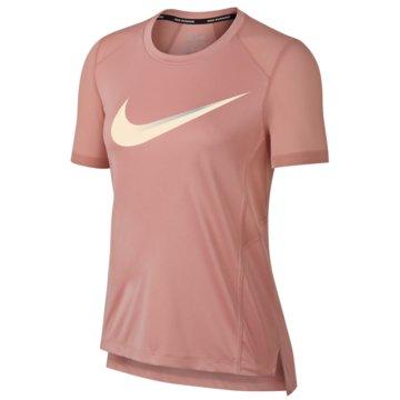 Nike DamenMiler SS Top Women rosa