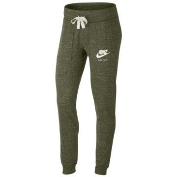 Nike Lange HosenGym Vintage Sportswear Pant Women grün