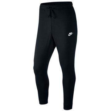 Nike Lange HosenClub Jogger FT Pant schwarz