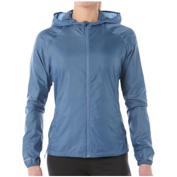 asics LaufjackenPackable Jacket Women blau