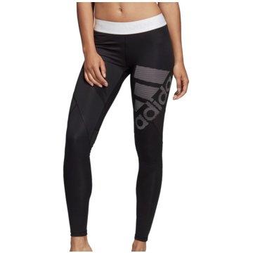 adidas DamenAlphaskin Sport Tight Long Women schwarz