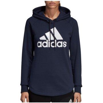 adidas HoodiesMust Haves Badge of Sport Over-head Hoodie Women blau