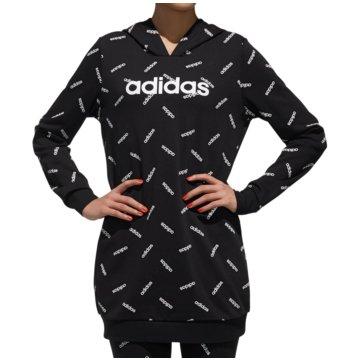 adidas HoodiesAll Over Print Hoody Women schwarz