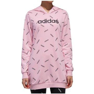 adidas HoodiesAll Over Print Hoody Women rosa